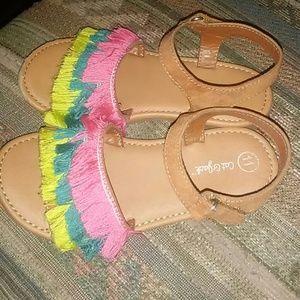 Bright and fun toddler girl sandal